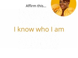 Affirmations To Nurture a Self-Confidence