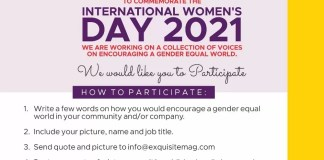 Let Your Voice be Heard For A Gender Equal World #choosetochallenge