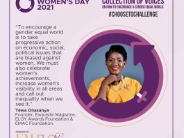 How Exquisite Ladies Are Celebrating International Women's Day 2021 - Tewa Onasanya