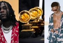 Burna Boy and WizKid Wins Grammy Award