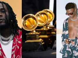 Burna Boy and WizKid Wins Grammy Award