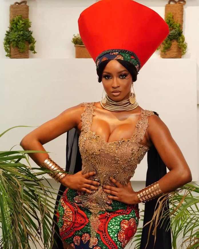 """Our Favorite Nigerian Celebrites """"African Royalty"""" Outfit To 'Coming 2 America 2' Premiere 1"""