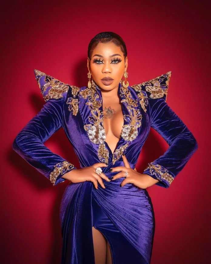 Toyin Lawani's 39th Birthday Looks Serves Us Nothing But Hot and Fiery