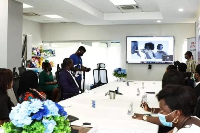 Actress Mercy Johnson, Otto Orondaam (Slum2school), Dental Professionals And Others Joined Pepsodent Round Table To Discuss The Importance And Actions To Foster Good Oral Hygiene With The Pandemic. 7