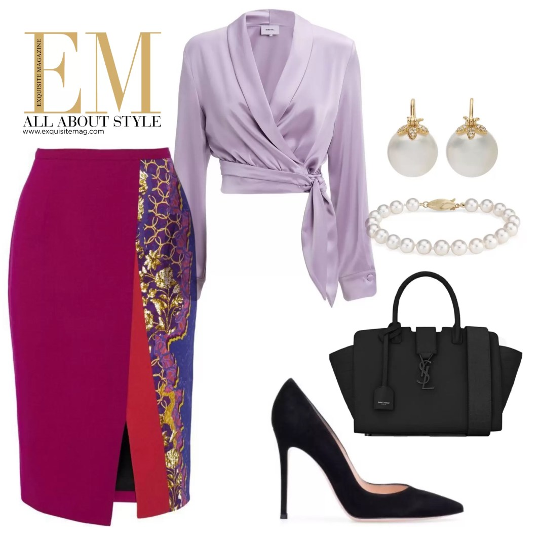 Who Said Pencil Skirts Have To Be Boring?