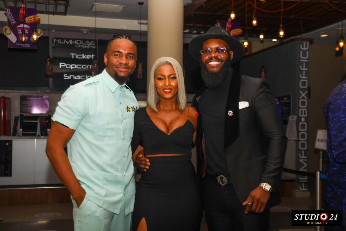 Jim Iyke Advocates Against Online Bullying; His Latest Film Bad Comments Premieres in Lagos 2