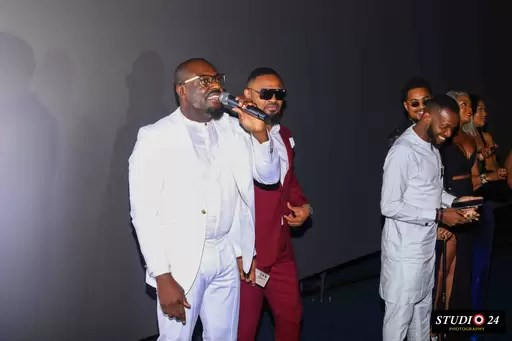 Jim Iyke Advocates Against Online Bullying; His Latest Film Bad Comments Premieres in Lagos 4