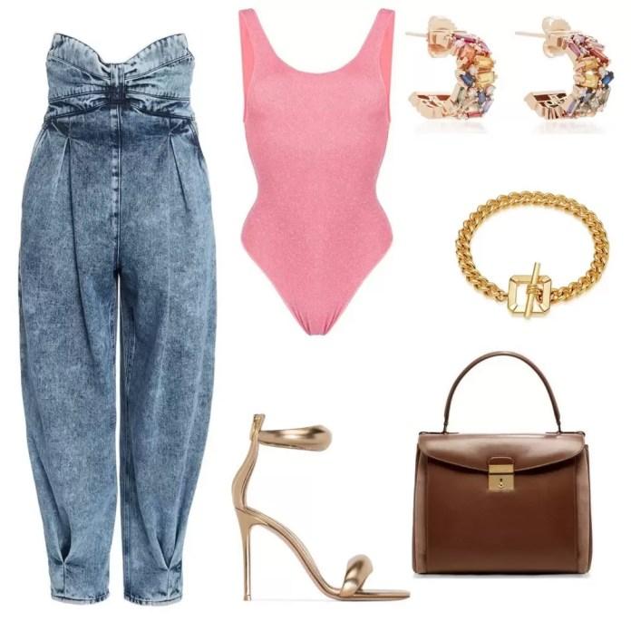 3 Ways To Style Highwaist Cuff Jeans 1