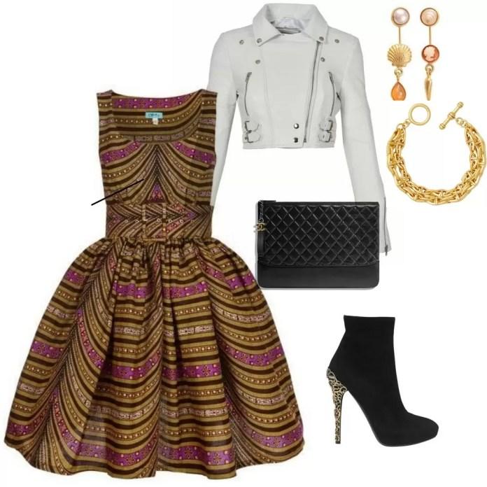 An African Print Dress