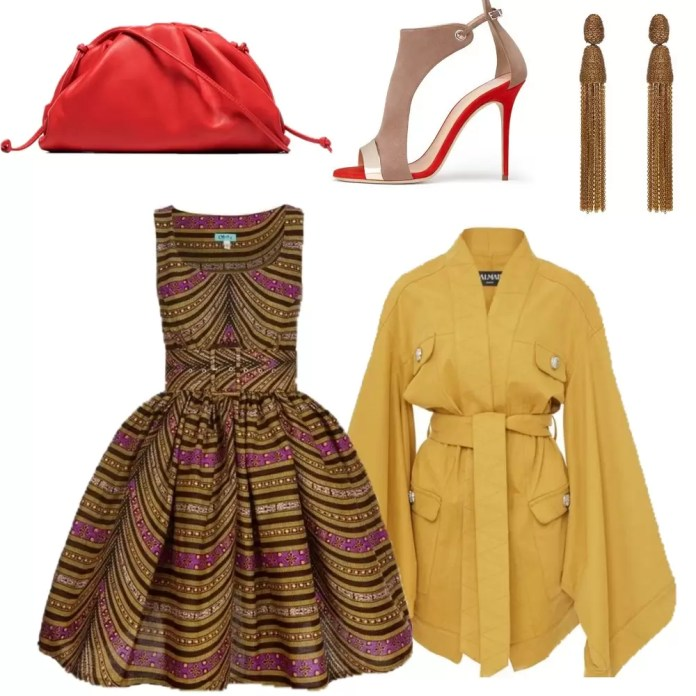 5 Ways To Style An African Print Dress 2