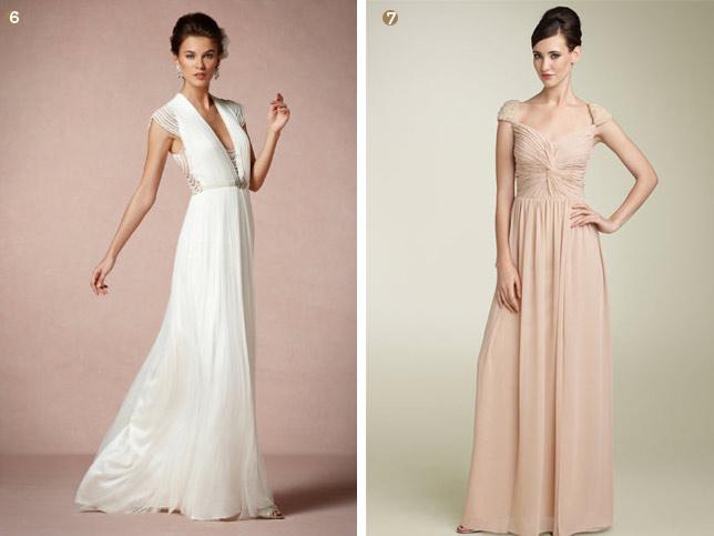 Fashion: Cap Sleeve Wedding Gowns