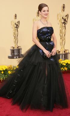 Marion Cotillard 2 at the Oscars 2009 on Exshoesme.com