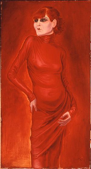 The Dancer Anita Berber by Otto Dix, 1924