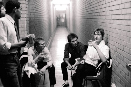 The Jam, backstage - captured by twink.