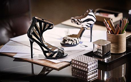 Jimmy Choo for H&M. Photo by Magnus Magnusson.