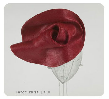 Large Paris hat by Karyn Gingras