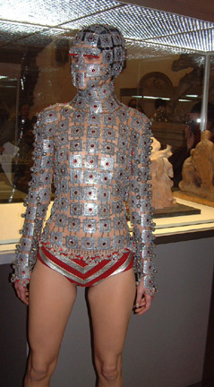 Eye – Jewelled body armour, Spring/Summer 2000 Sleane for McQueen