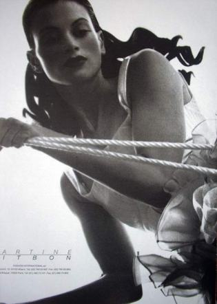 Martine Sitbon ad by Nick Knight, 1991/2