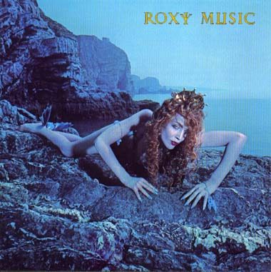 "11. On the cover of Roxy Music's ""Siren"" album, 1975"