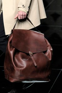 Burberry satchel for men - the Boyfriend bag? FW10