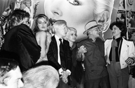 7. Jerry with Andy Warhol, Debbie Harry, Truman Capote and Paloma Picasso, 1979