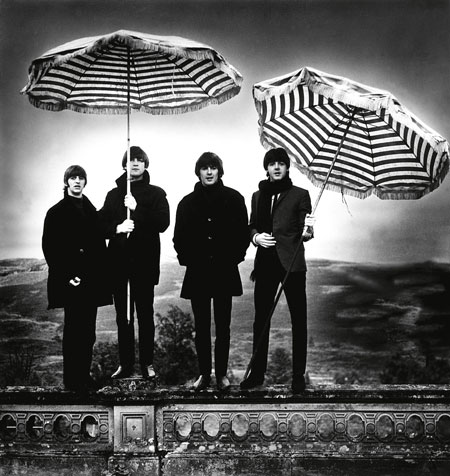 The Beatles, 1964. Photo by Robert Whitaker.