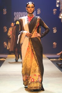 Sabyasachi's regal saree from a bygone era...