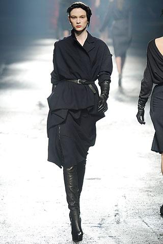 Soft black suit Lanvin FW09 on Exshoesme.com