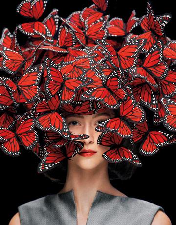 Amongst Butterflies @ McQueen Spring 08