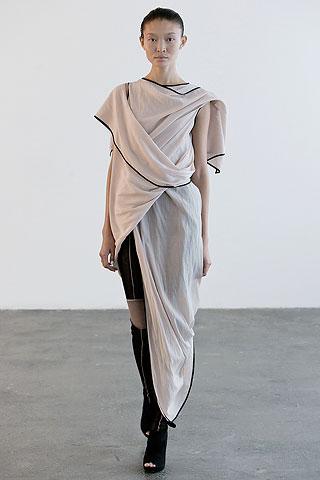 Laing Toga Dress