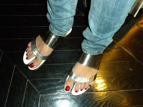 Her Margiela Sandals