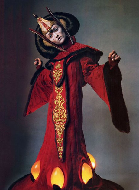 Star Wars couture, catalogued by Penn.