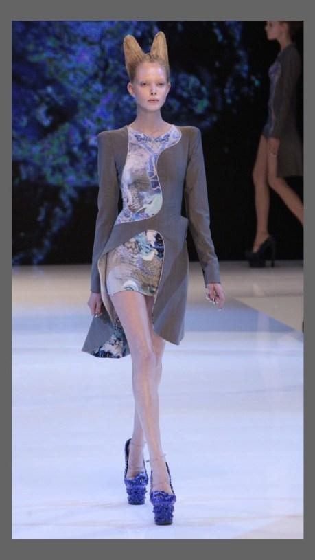 Sashayed Sash Jacket at McQueen