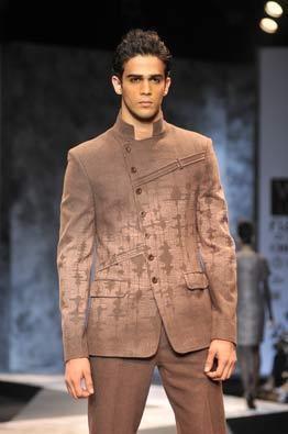 Same Detail on men's jacket