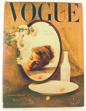 Vogue cover, May 1947.
