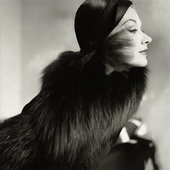 Lisa Fonssagrives by Penn, 1951
