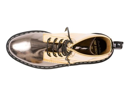Two-tone Doc Marten shoes by Raf Simons