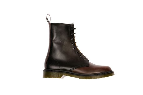 Two-tone Doc Marten boots by Raf Simons