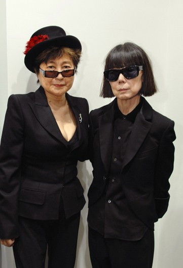 Yoko and Rei - sharing a dark and shaded moment.