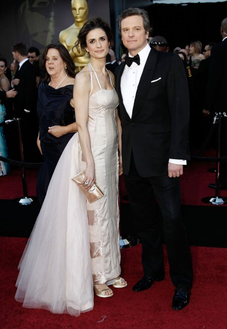 Colin and Livia Firth Oscars 2011 Red Carpet on exshoesme.com