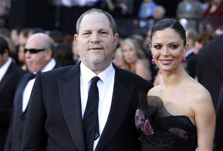 Harvey Weinstein and Georgina Chapman Oscars 2011 Red Carpet on exshoeme.com