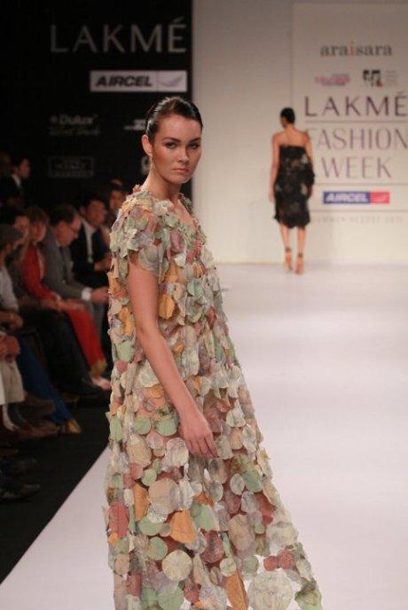 Araisara dress at Lakme Fashion Week Summer Resort 2011 on exshoesme.com