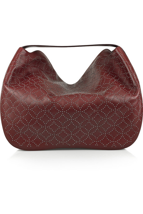 Alaia studded hobo bag on exshoesme.com