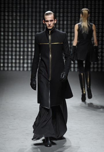 Gareth Pugh FW11 Cross Men's Coat on exshoesme.com