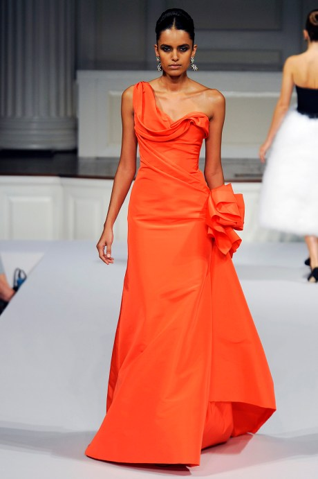 ODLR Laxmi in Coral Gown SS11 on exshoesme.com