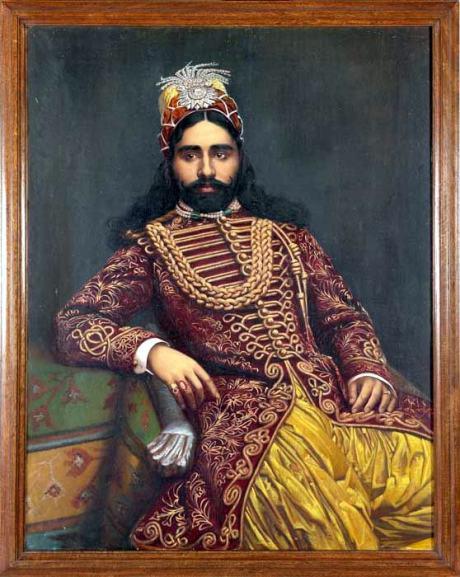 Sadiq Muhammad Abbai IV of Bahawalpur, around 1880 on exshoesme.com