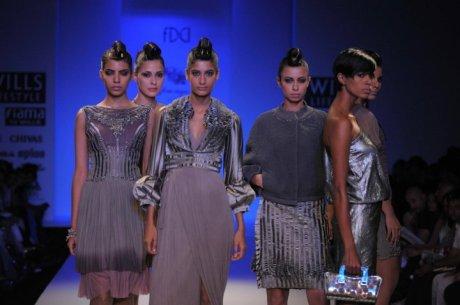 Geisha Designs by Paras and Shalini FW11 on exshoesme.com