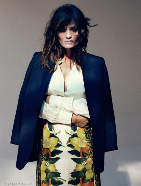 Helena Christensen for Harper's Bazaar Russia May 2011 by Luis Sanchis on exshoesme.com 4