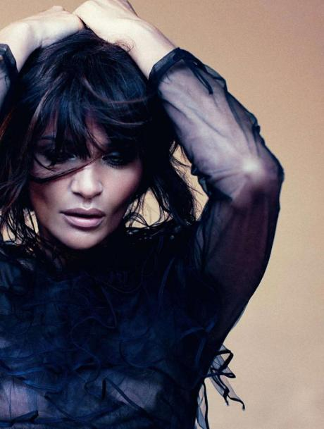 Helena Christensen for Harper's Bazaar Russia May 2011 by Luis Sanchis on exshoesme.com 9
