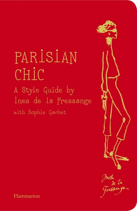 Parisian Chic Ines de la Fressange Book Cover on exshoesme.com
